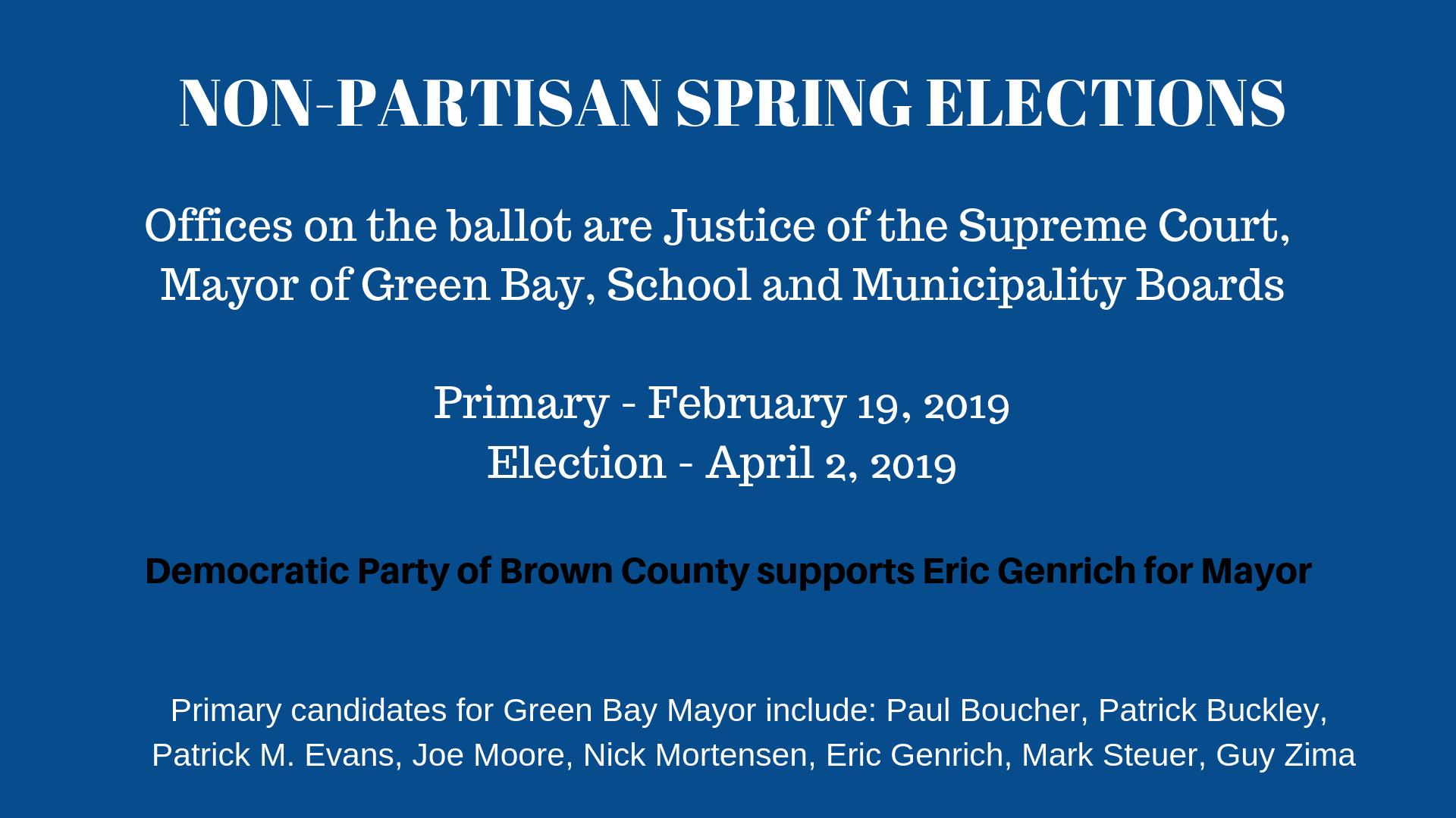 2019 Spring Primary