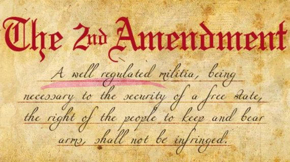 The Second Amendment text