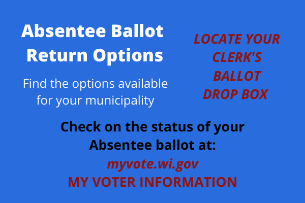 Ballot Drop Box & Status